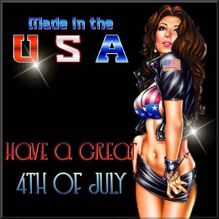 Made in the USA Have a great 4th of July