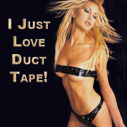 I just love duct tape!