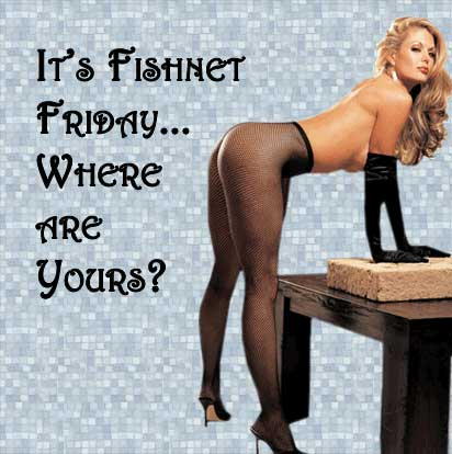 It's fishnet Friday... where are yours?