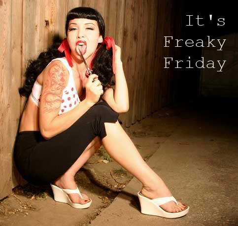It's freaky Friday