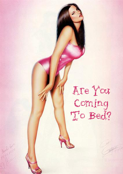 Are you coming to bed?