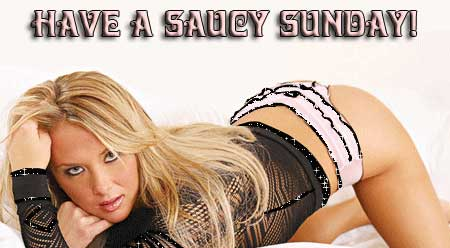 Have a saucy Sunday