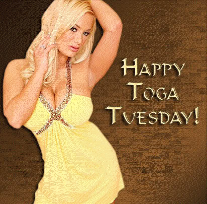 Happy Toga Tuesday!