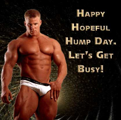 Happy hopeful hump day.  Let's get busy!