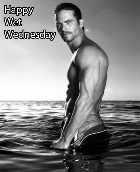 Happy Wet Wednesday