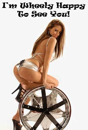 I'm wheely happy to see you!