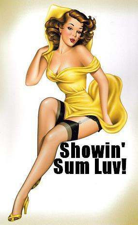 showin' sum luv!