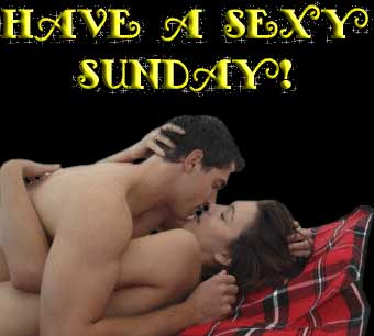 Have a sexy Sunday!