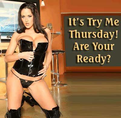 It's try me Thursday! Are you ready?