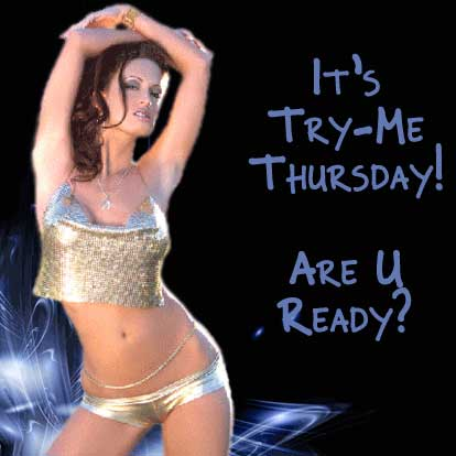 It's try-me Thursday! Are you ready?