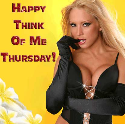 Happy think of me Thursday!