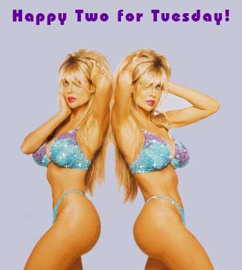Happy Two for Tuesday