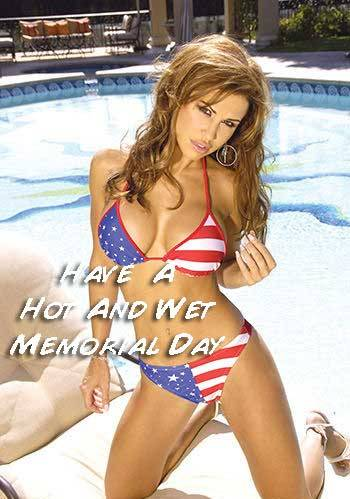 Have a hot and wet Memorial Day